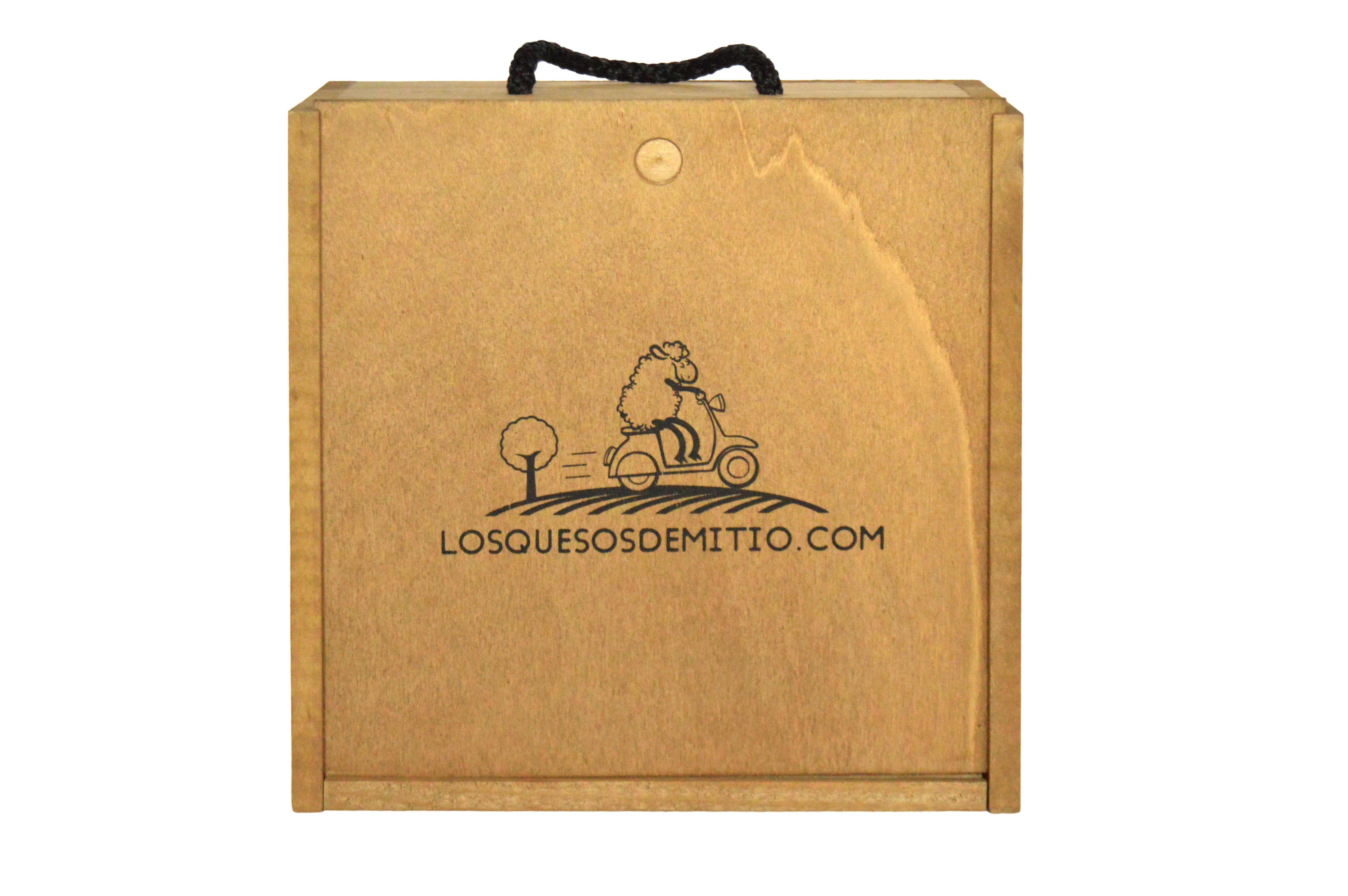 Losquesosdemitio - Caja de regalo para queso