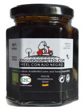 Losquesosdemitio - Miel con ajo negro ecológico